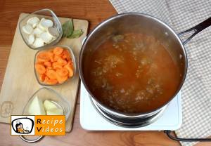 Goulash soup recipe, prepping Goulash soup step 5
