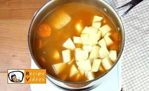 Goulash soup recipe, prepping Goulash soup step 6