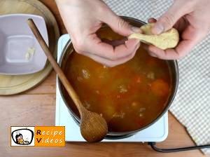 Goulash soup recipe, prepping Goulash soup step 8