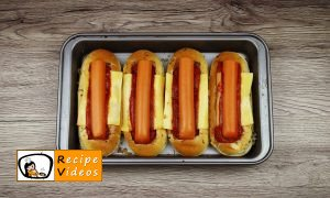 Hot dog with Bolognese sauce recipe, how to make Hot dog with Bolognese sauce step 6