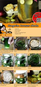 Hungarian Kovaszos Uborka (Sour Pickles) recipe with video