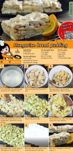 Hungarian bread pudding recipe with video