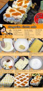 Hungarian ricotta cake recipe with video