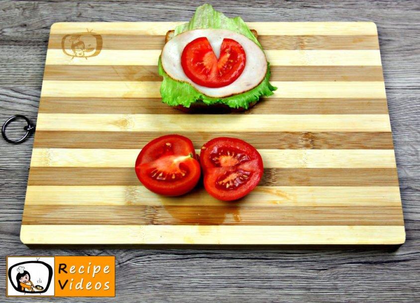 Ladybug Sandwich recipe, prepping Ladybug Sandwich step 3
