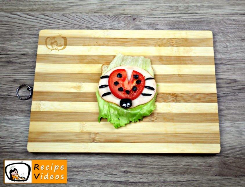 Ladybug Sandwich recipe, prepping Ladybug Sandwich step 5
