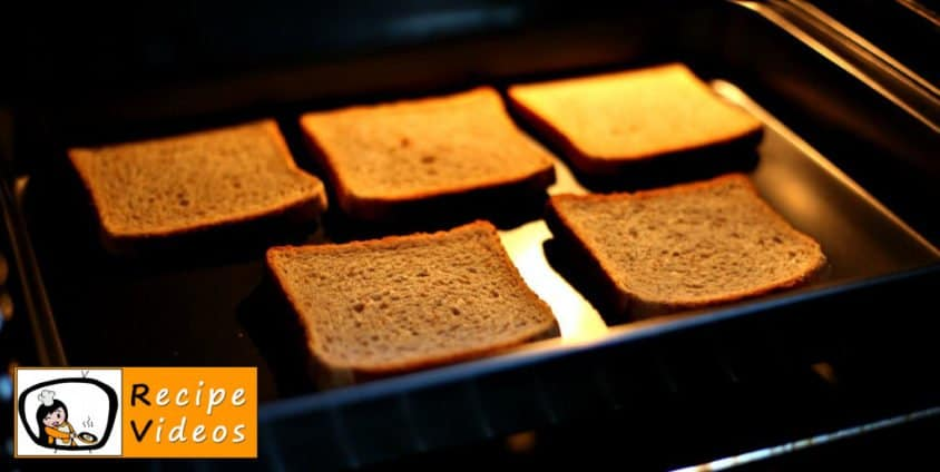 Ladybug Sandwich recipe, prepping Ladybug Sandwich step 1