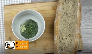 Lasagna baguette recipe, prepping Lasagna baguette step 2