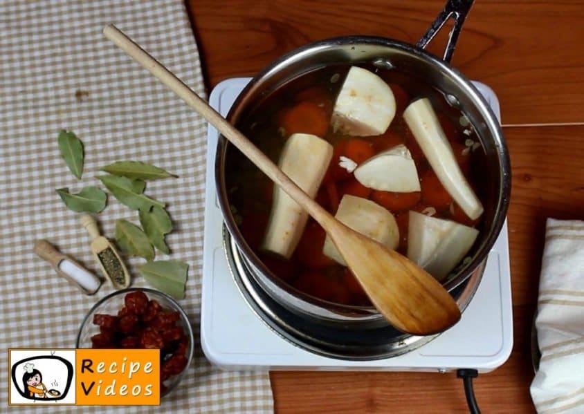 Lentil soup recipe, prepping Lentil soup step 1