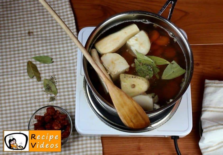 Lentil soup recipe, prepping Lentil soup step 2