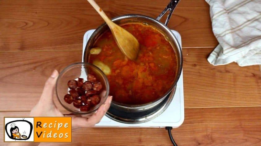 Lentil soup recipe, prepping Lentil soup step 4