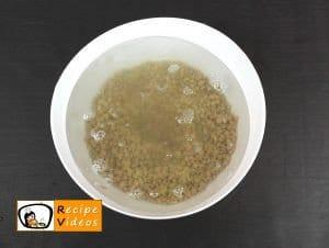 Lentil stew recipe, how to make Lentil stew step 1