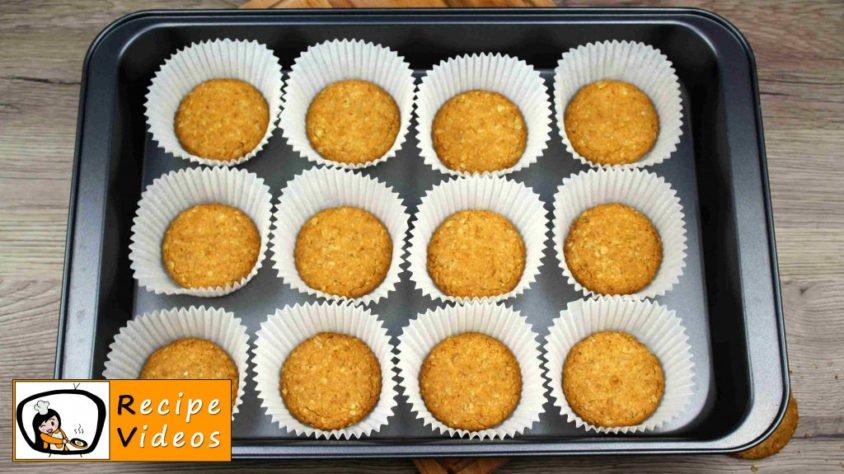 Mini cheesecake with lemon recipe, prepping Mini cheesecake with lemon step 4