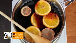 Mulled wine recipe, prepping Mulled wine step 3