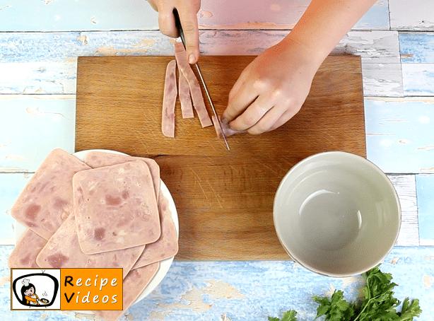 Noodle casserole recipe, prepping Noodle casserole step 1