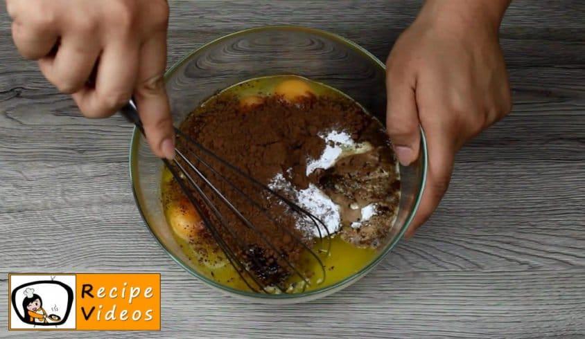 Panda Muffins recipe, prepping Panda Muffins step 1