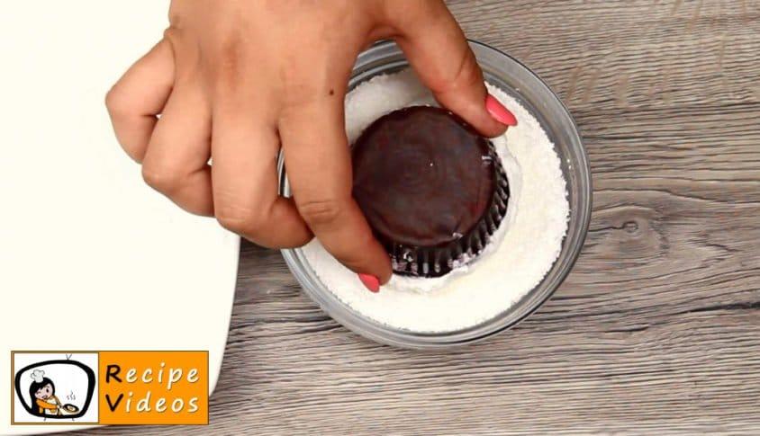 Panda Muffins recipe, prepping Panda Muffins step 5