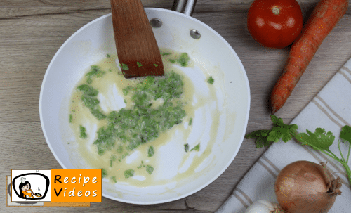 Parsley Roux recipe, how to make Parsley Roux step 4