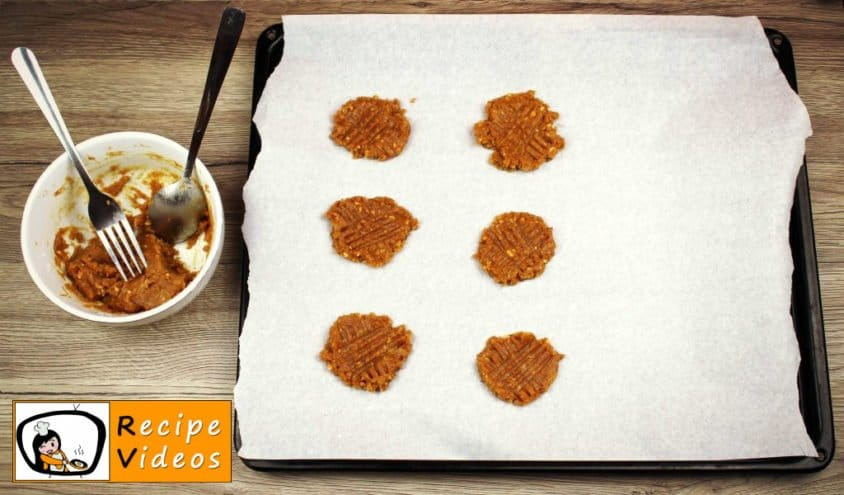 Peanut Butter Cookies recipe, prepping Peanut Butter Cookies step 1