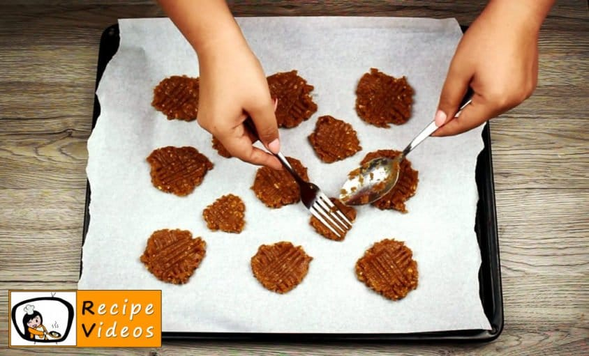 Peanut Butter Cookies recipe, prepping Peanut Butter Cookies step 2