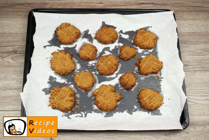 Peanut Butter Cookies recipe, how to make Peanut Butter Cookies step 3