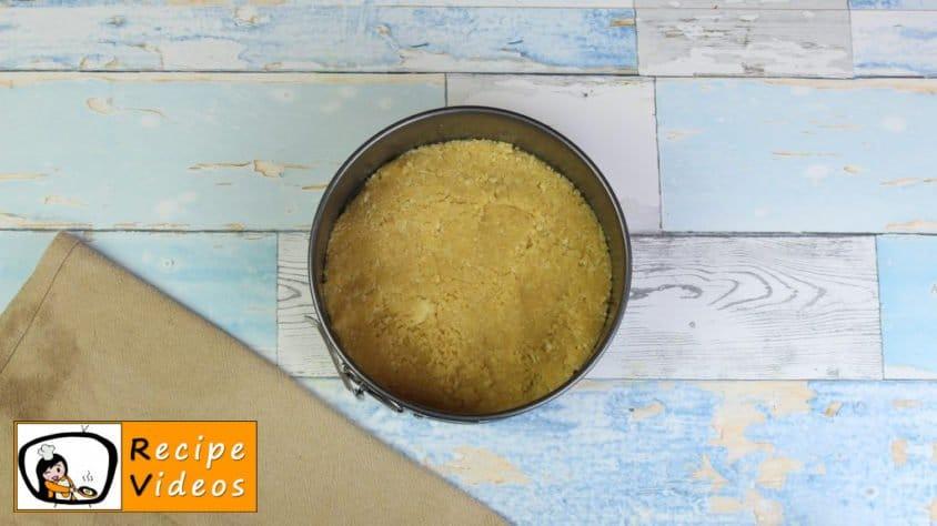 Philadelphia Cake recipe, prepping Philadelphia Cake step 2