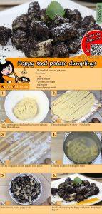 Poppy seed potato dumplings recipe with video