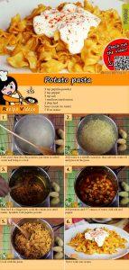 Potato pasta recipe with video