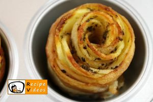 Potato roses with bacon recipe, prepping Potato roses with bacon step 6