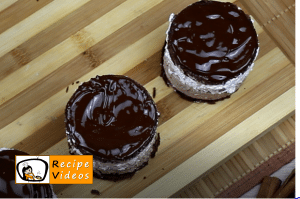 Rigó Jancsi - Hungarian Chocolate Sponge Cake recipe, prepping Rigó Jancsi - Hungarian Chocolate Sponge Cake step 12