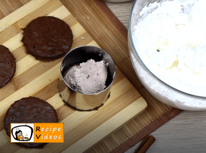 Rigó Jancsi - Hungarian Chocolate Sponge Cake recipe, prepping Rigó Jancsi - Hungarian Chocolate Sponge Cake step 9