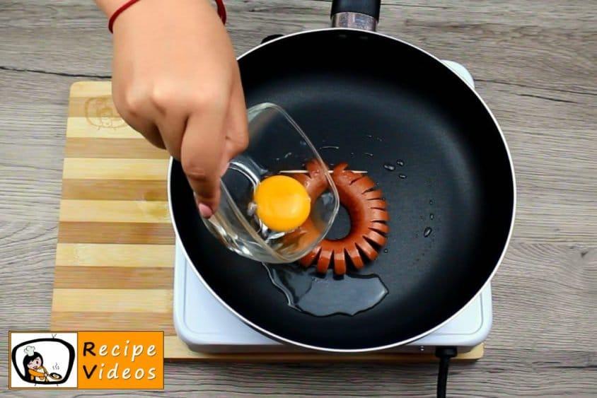 Sausage Daisies recipe, prepping Sausage Daisies step 5