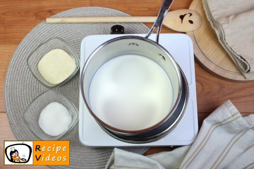 Semolina porridge recipe, prepping Semolina porridge step 1