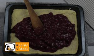 Sour cherry cake recipe, prepping Sour cherry cake step 7