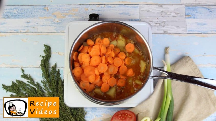 Stew with minced meat recipe, prepping Stew with minced meat step 5