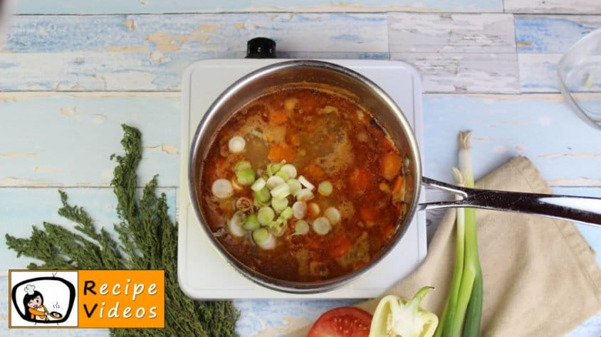 Stew with minced meat recipe, prepping Stew with minced meat step 6
