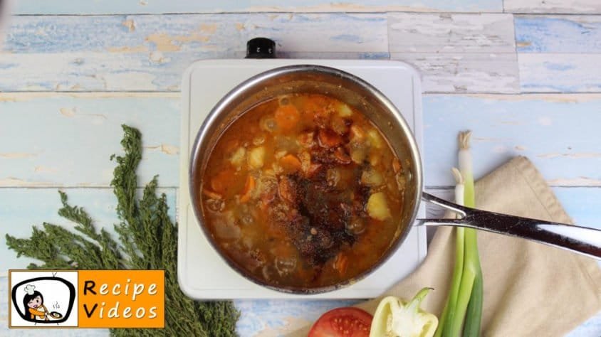 Stew with minced meat recipe, prepping Stew with minced meat step 7