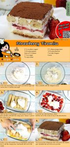 Strawberry Tiramisu recipe with video
