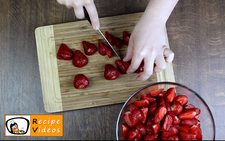 Strawberry Jam recipe, how to make Strawberry Jam step 1