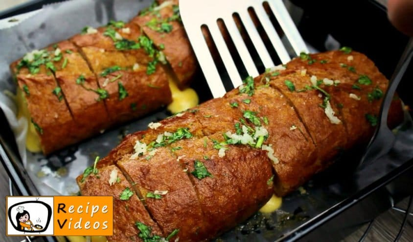 Stuffed Baguette with Garlic recipe, how to make Stuffed Baguette with Garlic step 9