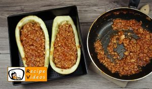 Stuffed eggplant with minced meat recipe, how to make Stuffed eggplant with minced meat step 5