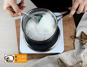 Szaloncukor recipe, how to make Szaloncukor step 5