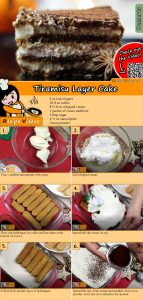 Tiramisu layer cake recipe with video