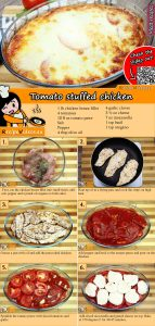 Tomato stuffed chicken recipe with video