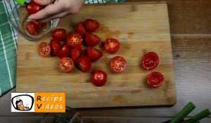 Breaded tomato nibbles recipe, how to make Breaded tomato nibbles step 2