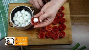 Breaded tomato nibbles recipe, how to make Breaded tomato nibbles step 4