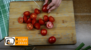 Breaded tomato nibbles recipe, how to make Breaded tomato nibbles step 1