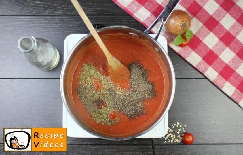 Tomato soup recipe, prepping Tomato soup step 4