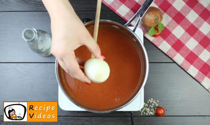 Tomato soup recipe, prepping Tomato soup step 6