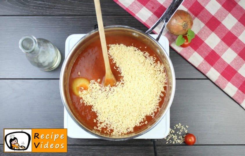 Tomato soup recipe, prepping Tomato soup step 7