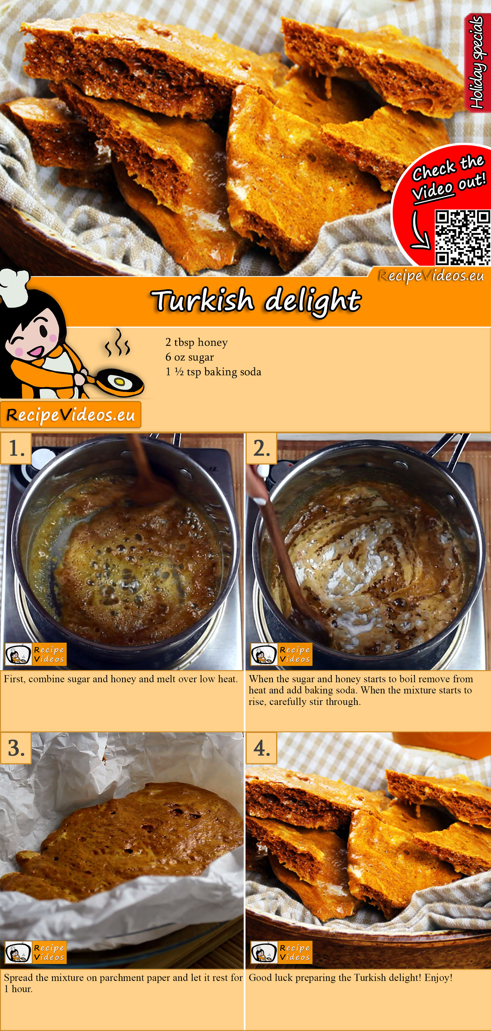 Turkish delight recipe with video